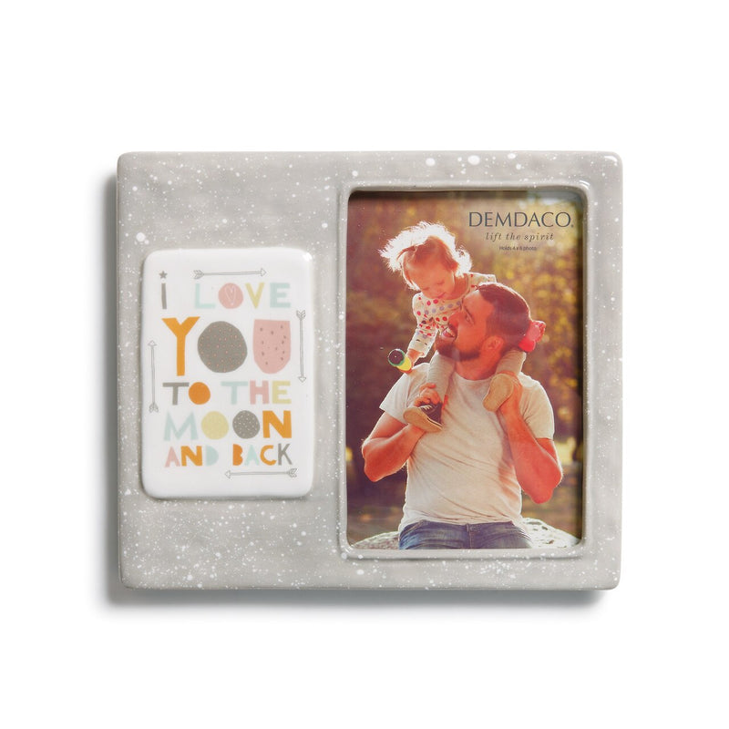 Moon & Back Picture Frame