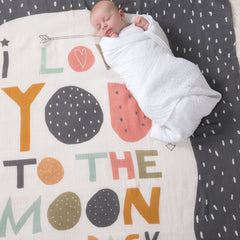 Moon and Back Photo Swaddle