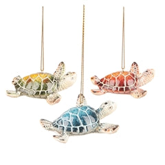 Cozumel Mini Sea Turtle Ornament