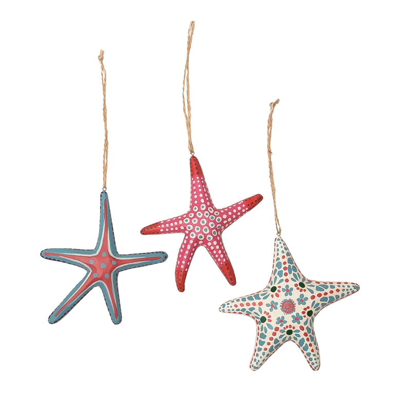 Handmade Starfish Ornament