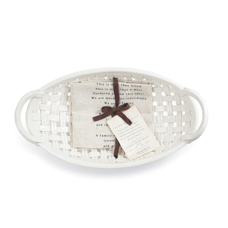 Ceramic Bread Basket