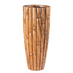 Bamboo Carved Vase