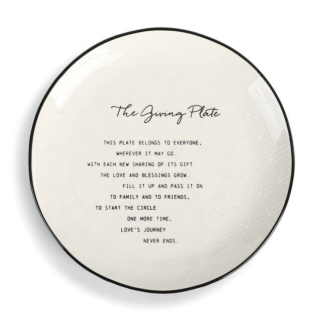 The Giving Plate - 10""