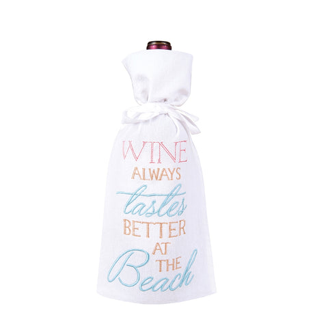 Wine Tastes Better Wine Bag