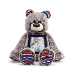 Here to Hug Bear - Military Bear & Grandma Bear