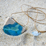 Waterway Pendant Necklace