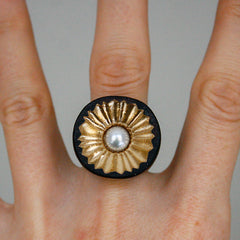 Limpet Statement Ring