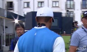 Tiger Showed Up To The Open With KT Tape On His Neck And Broke The Internet