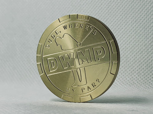 DWMP Limited Edition Brass Ball Marker 2.0