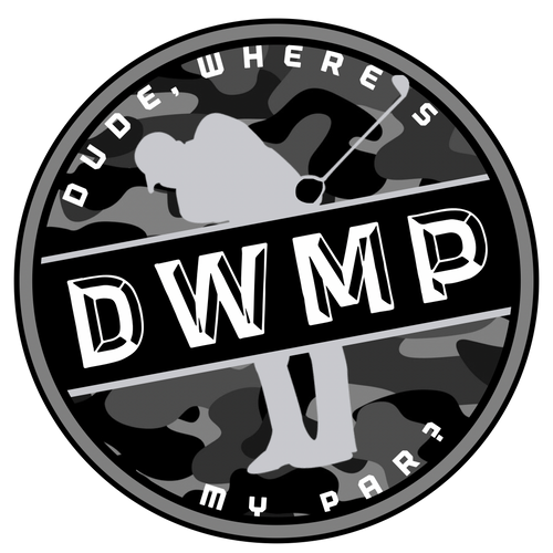 Dude, Where's My Par (MILITARY) Sticker (3