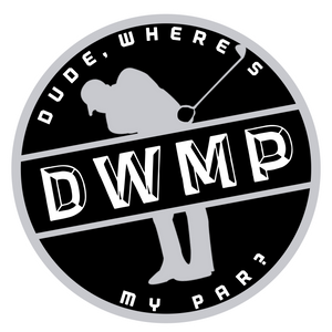 "Dude, Where's My Par Vinyl Decal (3""x3"")"