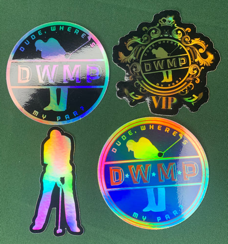DWMP Holographic Stickers