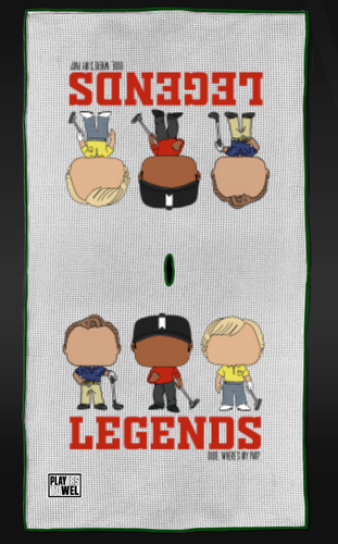 DWMP - LEGENDS OF THE GAME Tour Towel
