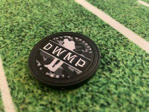 DWMP Military Ball Marker W/ *BONUS* Vinyl Decal