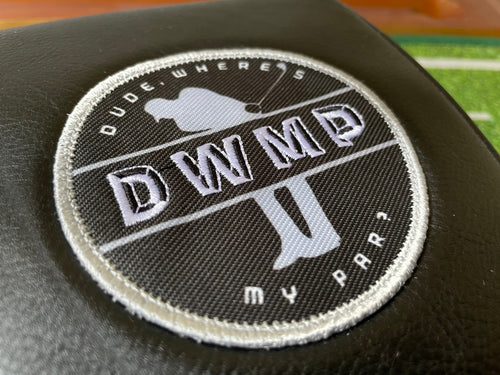 "DWMP Iron-on Patch (3"" circle)"