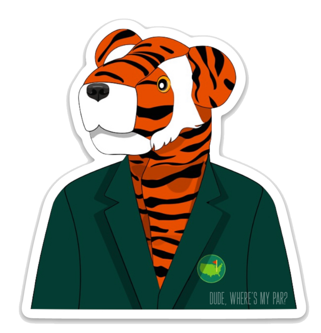 "Masters 'Frank' Vinyl Decal (3"")"