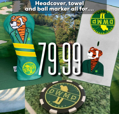 Masters Bundle (Headcover, Towel & Ball Marker)