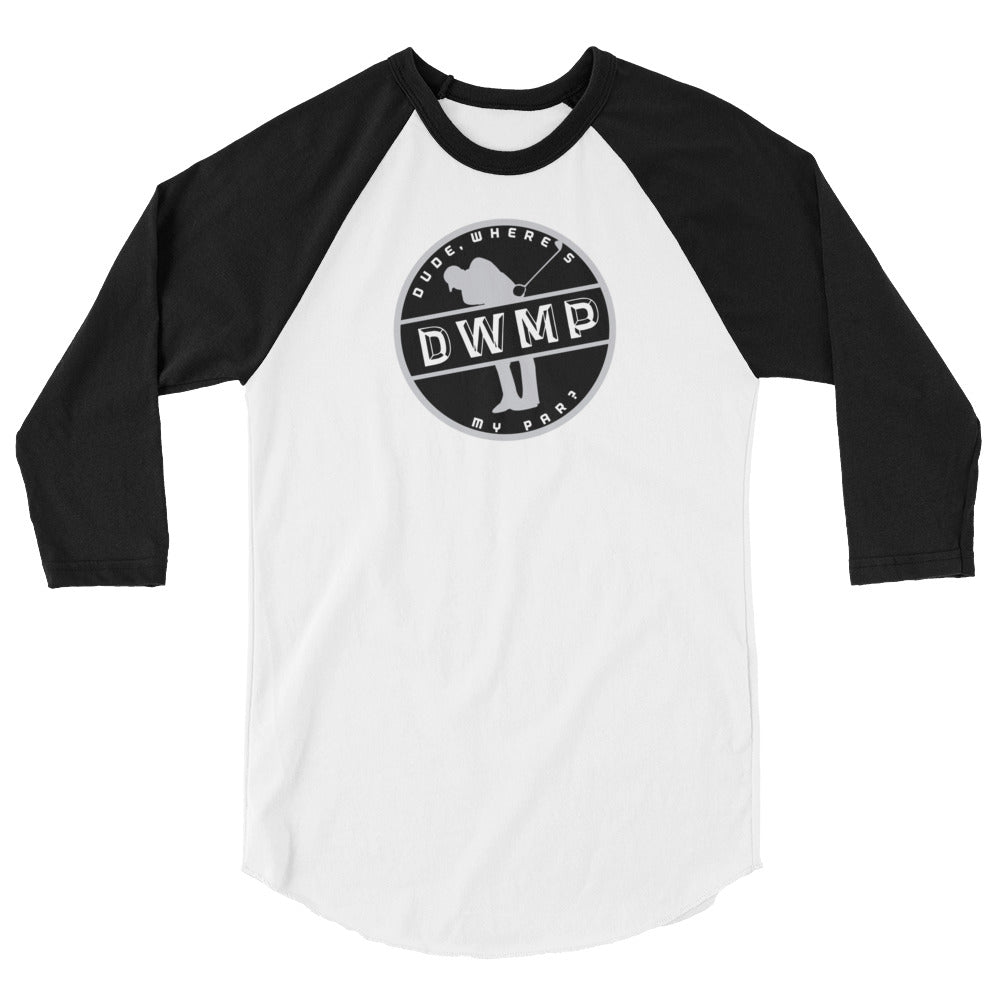 DWMP Alternate Logo 3/4 sleeve tee shirt