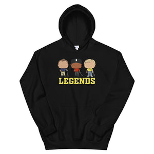 LEGENDS OF THE GAME Hoodie W/ Pocket