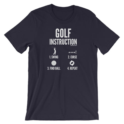 Golf Instruction Tee Shirt