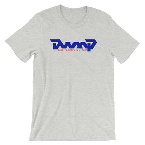 DWMP Throwback Logo Red White Blue Tee Shirt