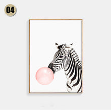 Modern Pink Balloon kids Room Decor Art Canvas Painting