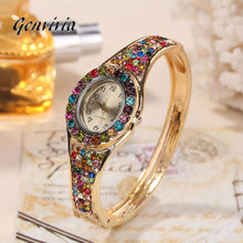 Genvivia Luxury Charming Band Bracelet Jewelry Wristwatch