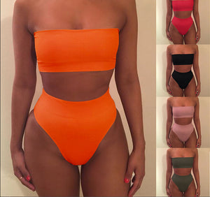 Strapless Swimwear