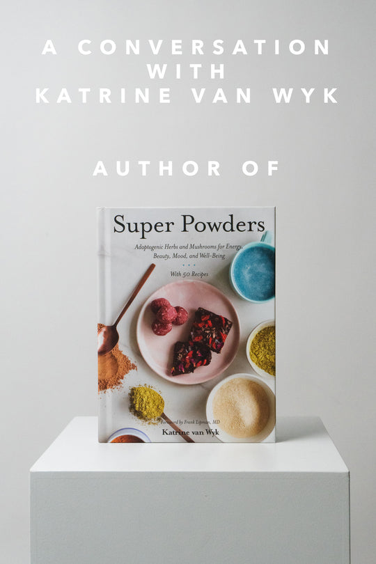 A Conversation with Katrine Van Wyk