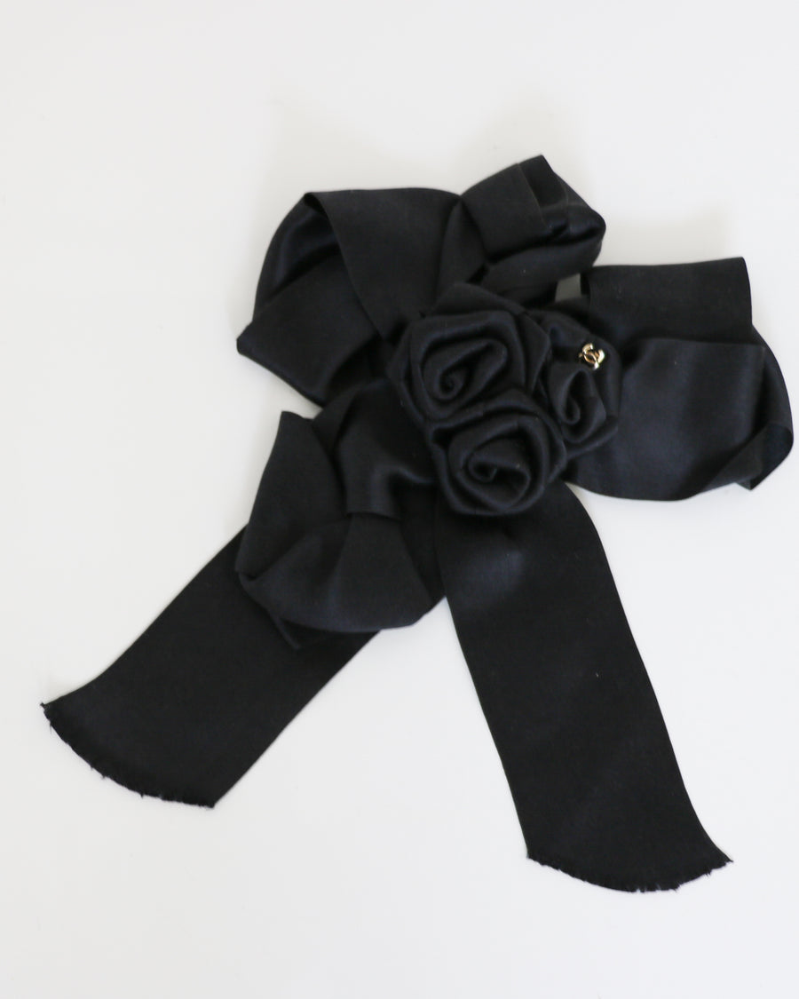 Chanel Satin Brooch