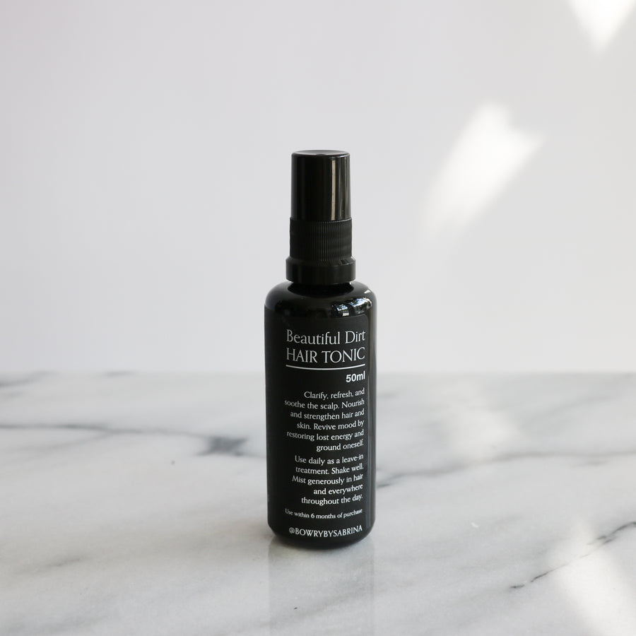 Bowry Beautiful Dirt Hair Tonic