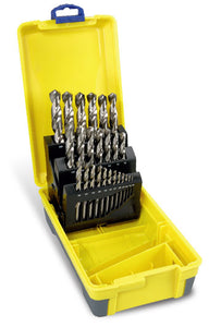 Drill Set Bright | Metric: 1.0 - 13.0 x 0.5mm rises | 25pc