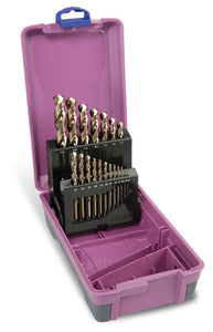 Drill Set Cobalt | Metric: 1-13mm |19pce 2 Tier