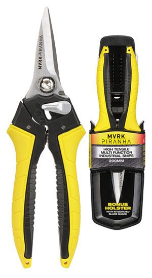 MVRK Piranha 200mm High Tensile Multi Function Industrial Snips