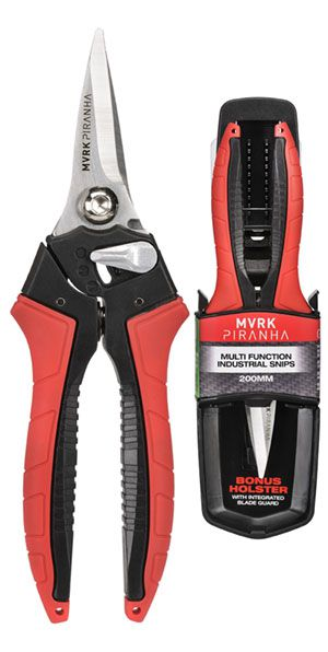 MVRK Piranha 200mm Multi Function Industrial Snips