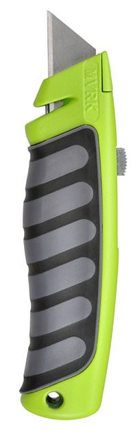 MVRK Comfort Grip Utility Knife - Green