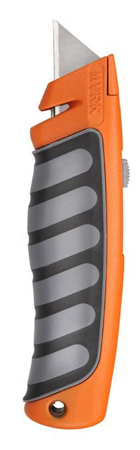 MVRK Comfort Grip Utility Knife - Orange