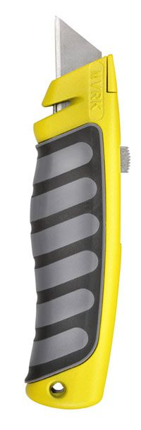 MVRK Comfort Grip Utility Knife - Yellow