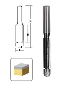 Flush Trimming Bits | T8000 Series
