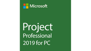 Microsoft Project Professional 2019 (5 PCs) - Three Official