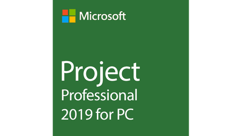 Microsoft Project Professional 2019 - Three Official