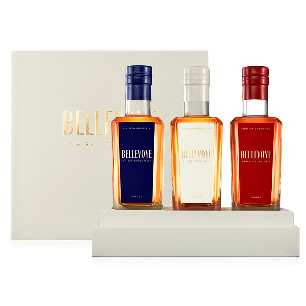 Bellevoye Tricolour French Whisky Gift Box