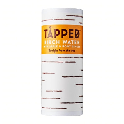 Load image into Gallery viewer, TAPPED - Birch Water Apple & Root Ginger 250ml