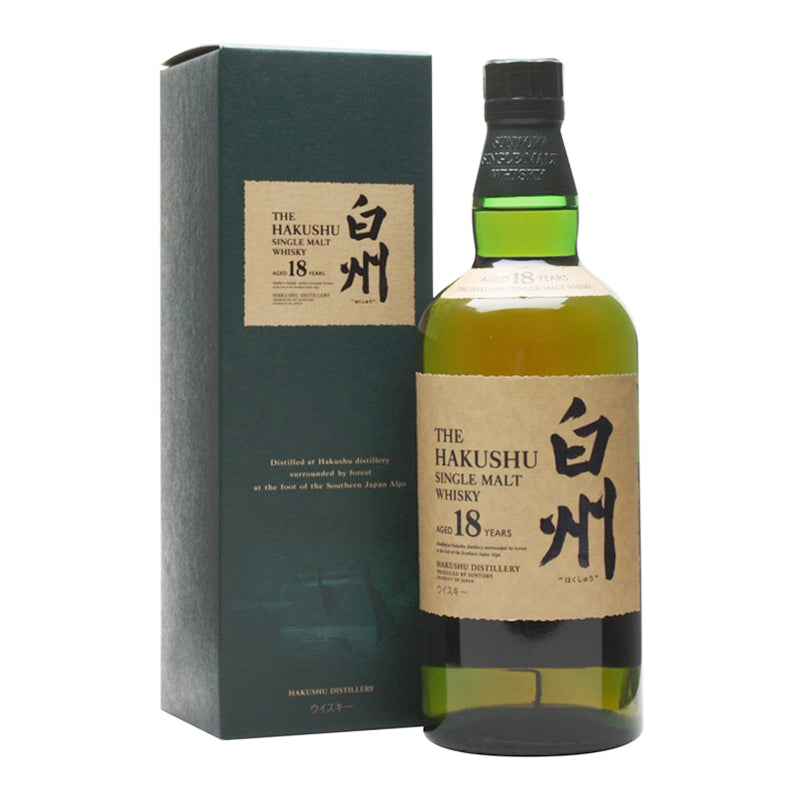 Load image into Gallery viewer, Suntory The Hakushu Single Malt Whisky Aged 18 Years