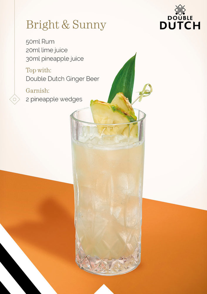 Double Dutch Ginger Ale Mixer