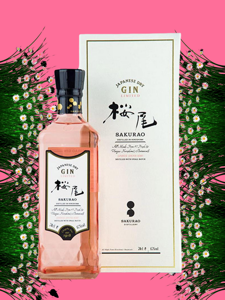 Sakurao Japanese Dry Gin Limited Edition 700ml