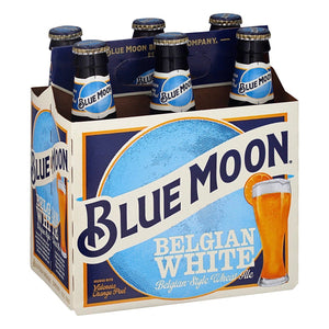 Load image into Gallery viewer, Blue Moon Belgian White Beer - Belgian Style Wheat Ale