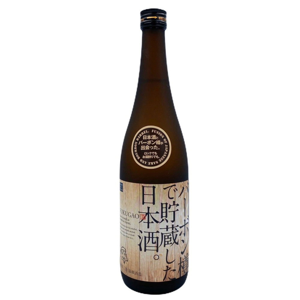 Load image into Gallery viewer, Fukugao Bourbon Barrel Aged Sake