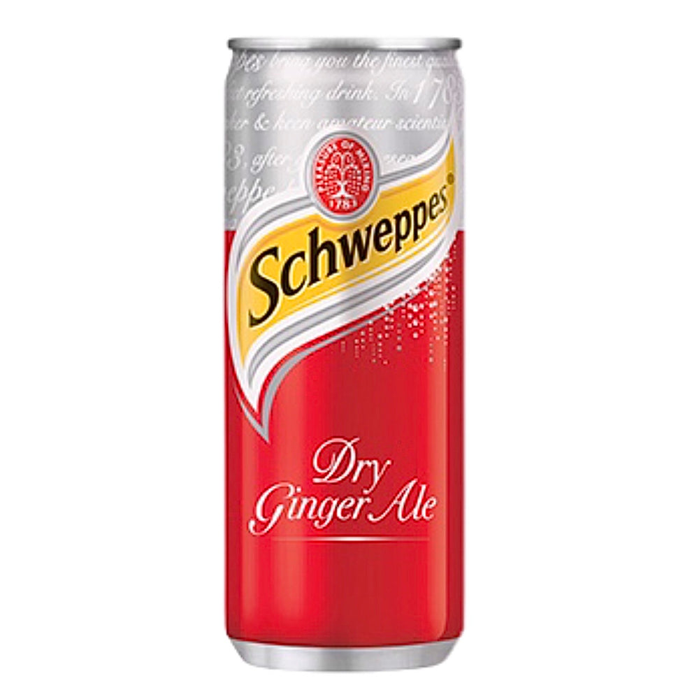 Schweppes Ginger Ale (6 x 250ml)