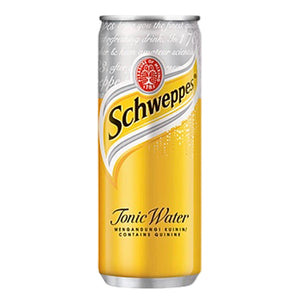 Schweppes Tonic Water (6 x 250ml)